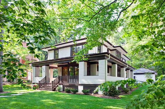 Frank Lloyd Wright Styles frank lloyd wright goes green in kensington | urbanturf guides